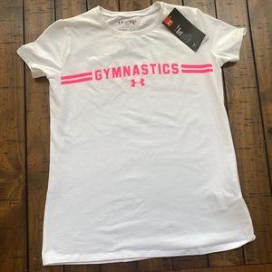 Under Armour Girls Heat Gear Gymnastics Tee